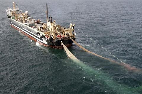 Super Trawler (c) Greenpeace